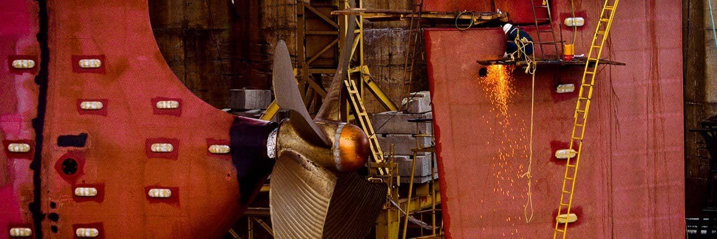 Ship propellers